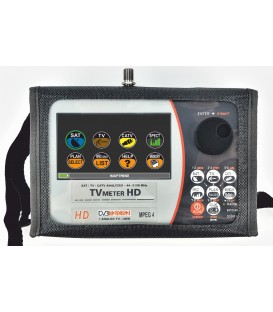 Prime Digital, Easy/TV Meter HD Touch DOLBY S2CT2, Combined HD Analyzer, mit Digital HD Bild