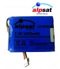 ALPSAT Satfinder Spare Part SF03-BT Akku