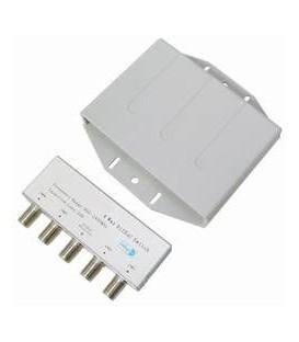DiSEqC 4/1 mit Wetterschutz Umschalter für 4 LNB  Full HD und UHD 4K/8K Kompatibel