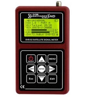 ALPSAT Satfinder 3HD Slim KU/C/KA-Band, DVB-S/S2 Spektrum, Unicabel
